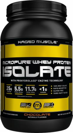 WHEY PROTEIN ISOLATE 3lb chocolate - Kaged Muscle