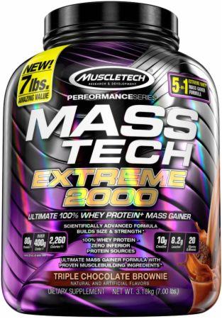 MASS-TECH EXTREME 2000 7lb triple choco brownie - MuscleTech