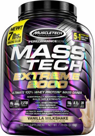 MASS-TECH EXTREME 2000 7lb vanilla - MuscleTech