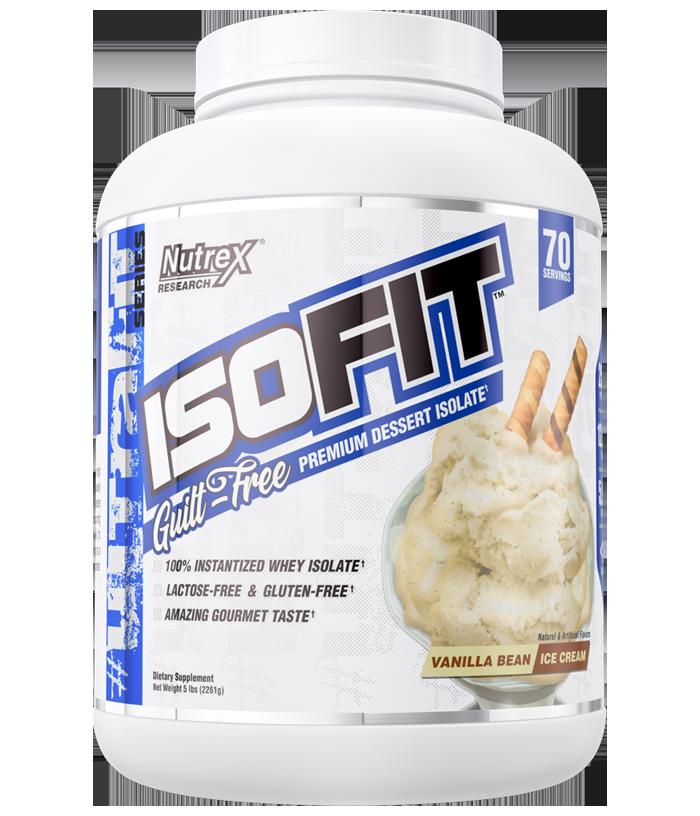 ISOFIT 5lbs Vanilla - NUTREX