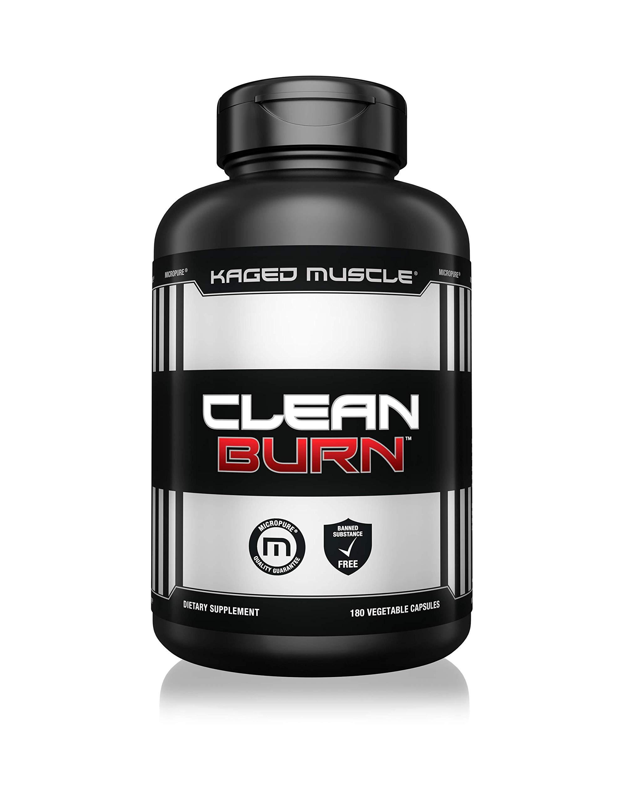 CLEAN BURN 180caps. - Kaged Muscle