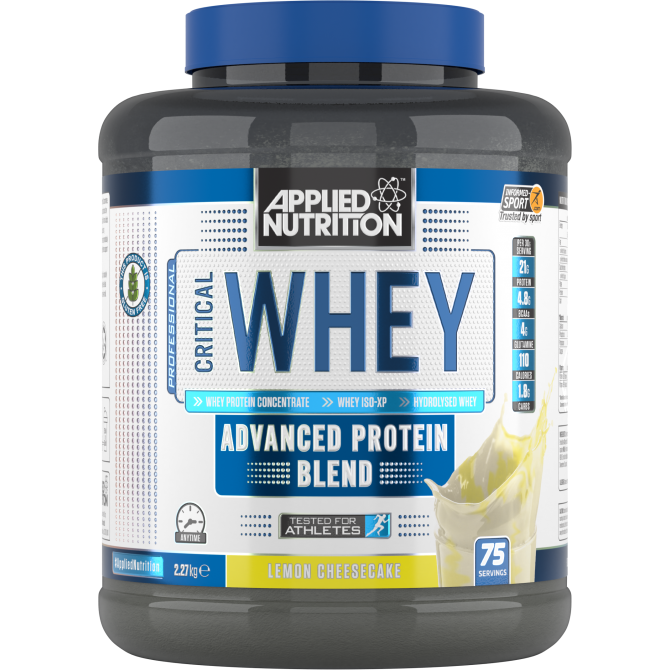 Critical Whey 2.27kg lem cheese cake - Applied Nutrition