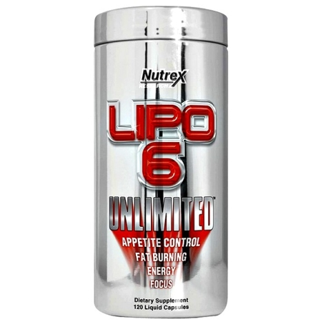 LIPO-6 UNLIMITED 120caps. - NUTREX