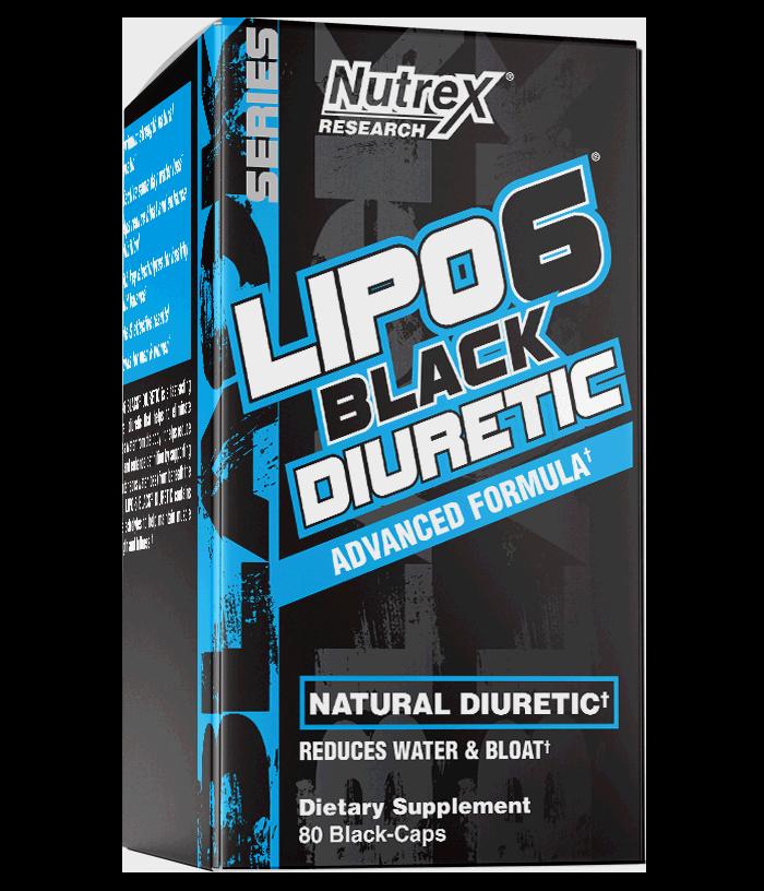 LIPO-6 BLACK DIURETIC 80caps. - NUTREX
