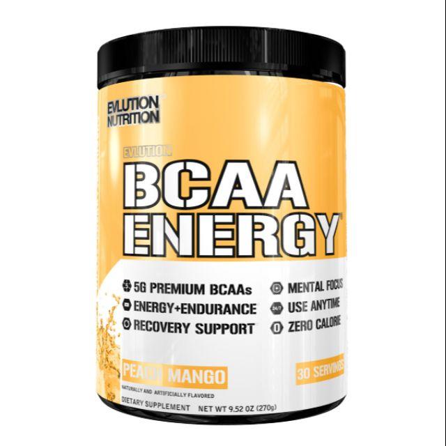 BCAA ENERGY 30serv. peach mango - EVL