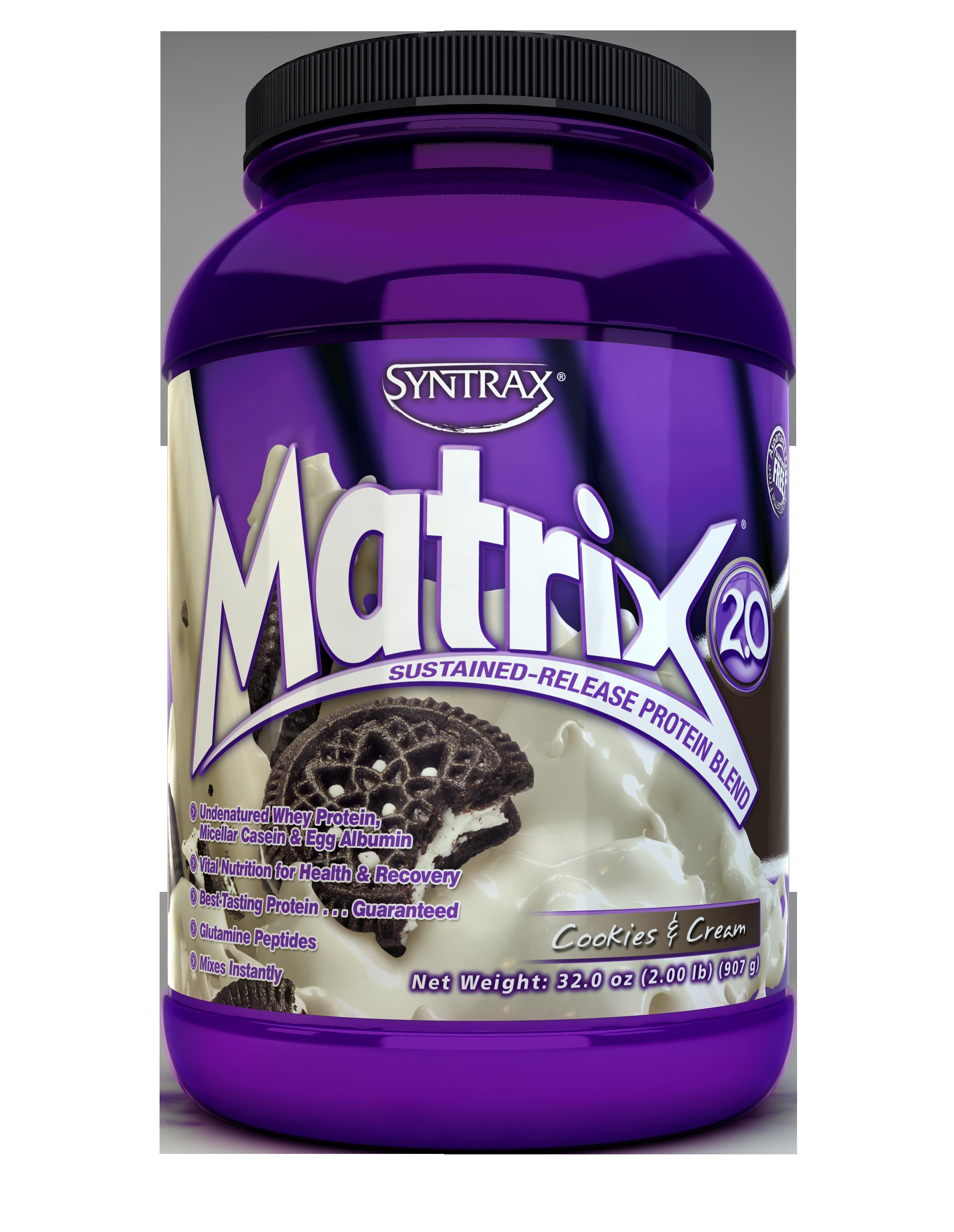 Syntrax Matrix 2.0 - Cookies & Cream 2 lb