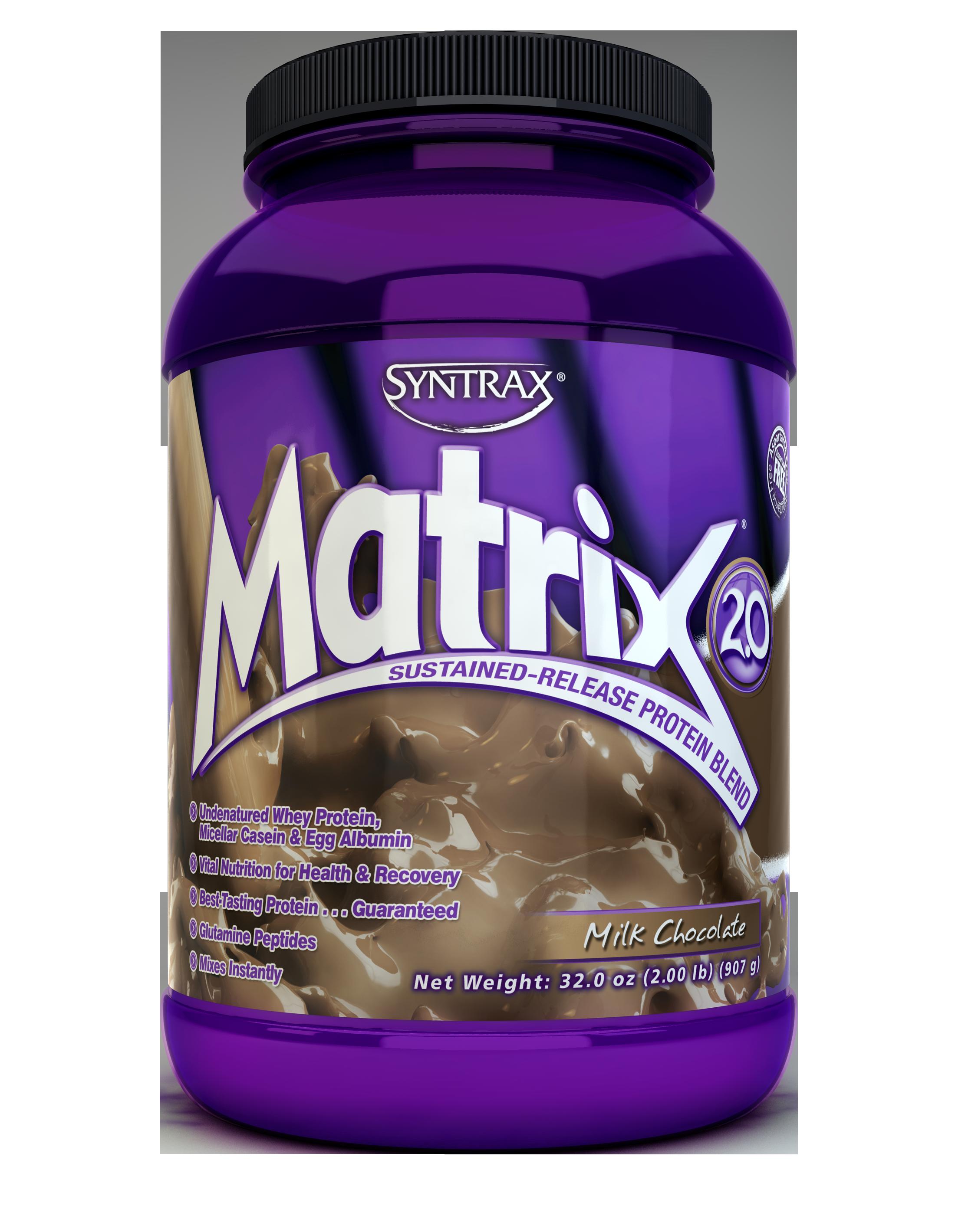 Syntrax Matrix 2.0 - Milk Chocolate 2 lb