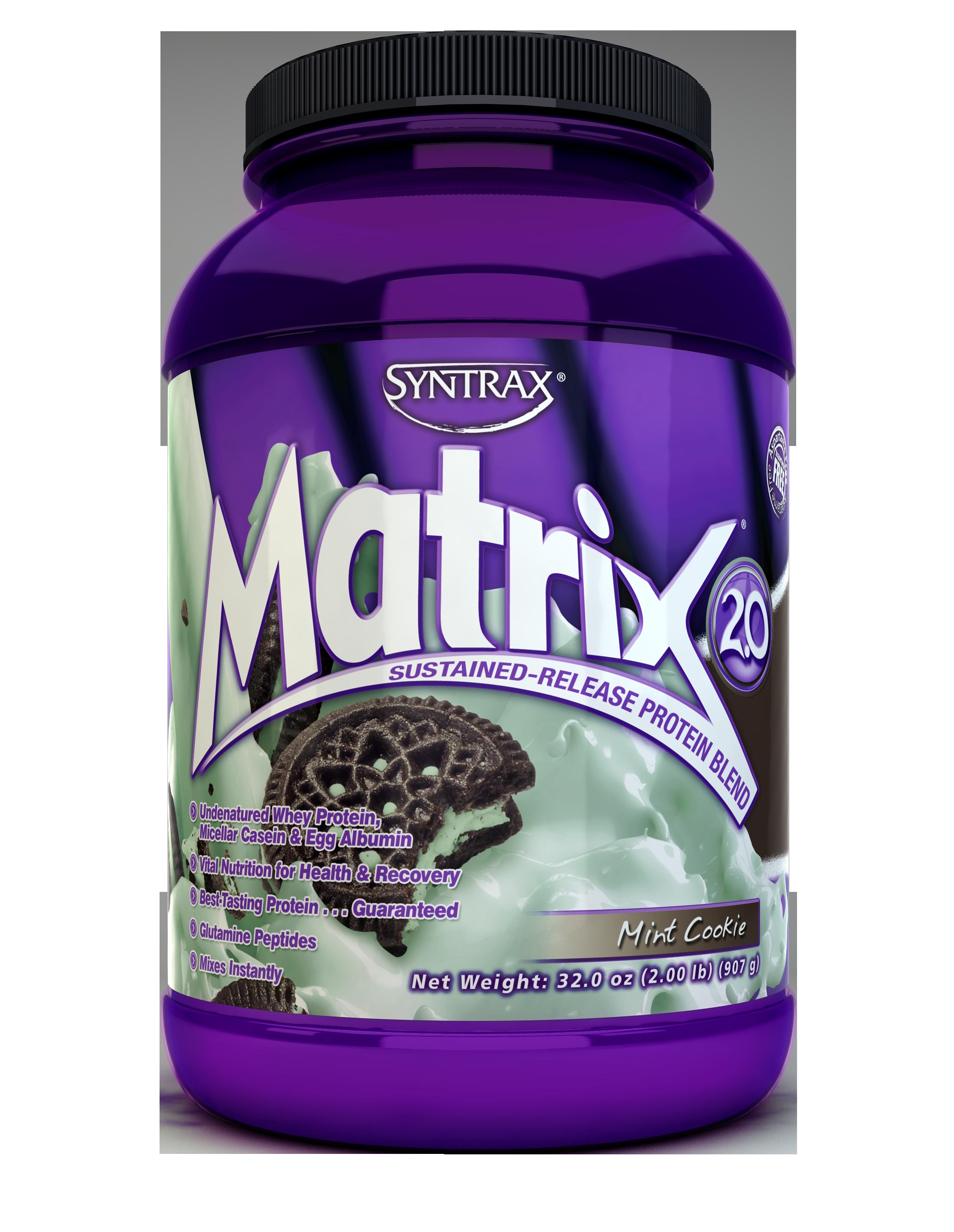 Syntrax Matrix 2.0 - Mint Cookie 2 lb