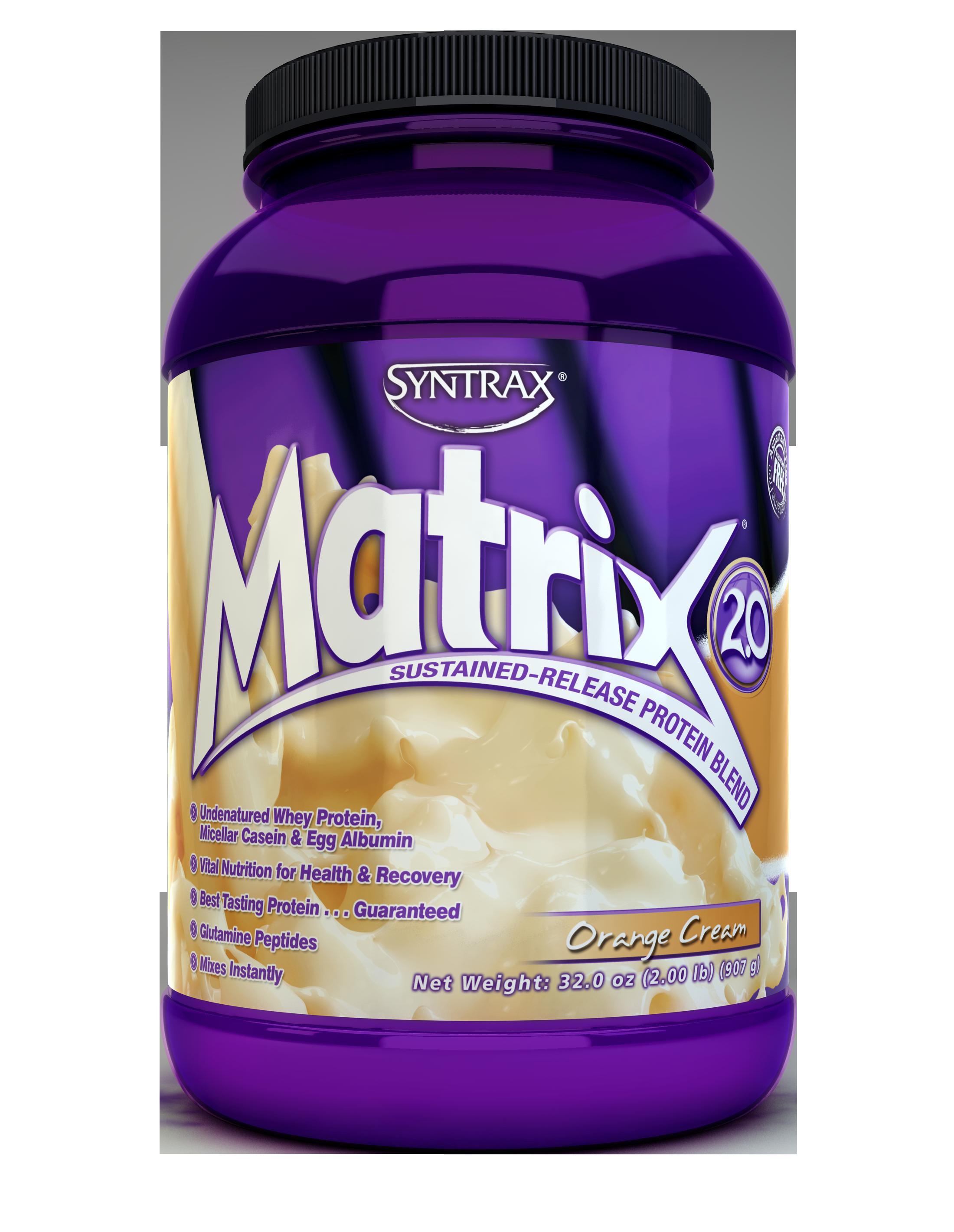 Syntrax Matrix 2.0 - Orange Cream 2 lb