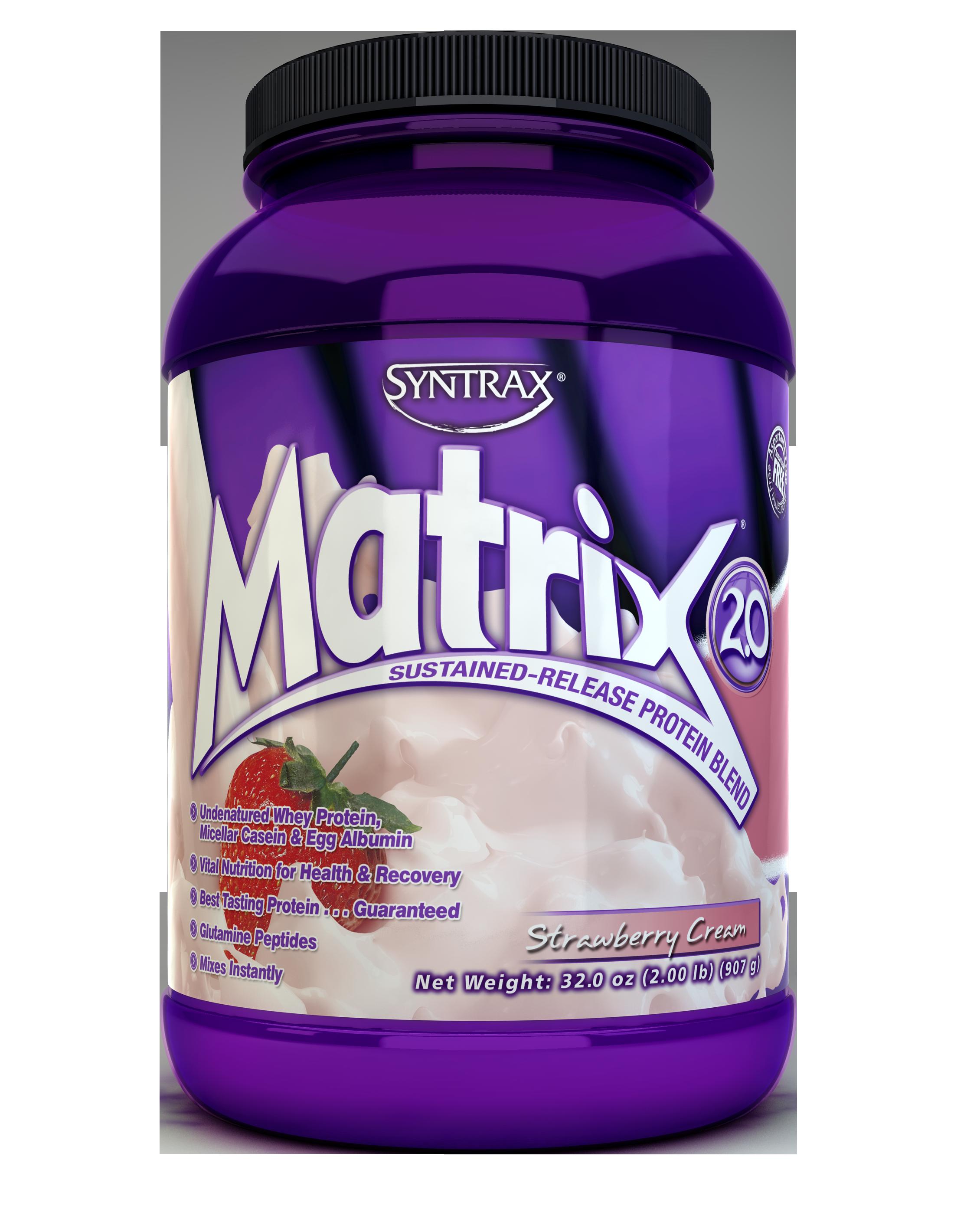 Syntrax Matrix 2.0 - Strawberry Cream 2 lb