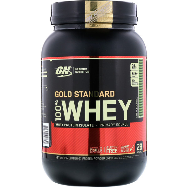 100% Whey Gold Standard 2lb mint. - ON