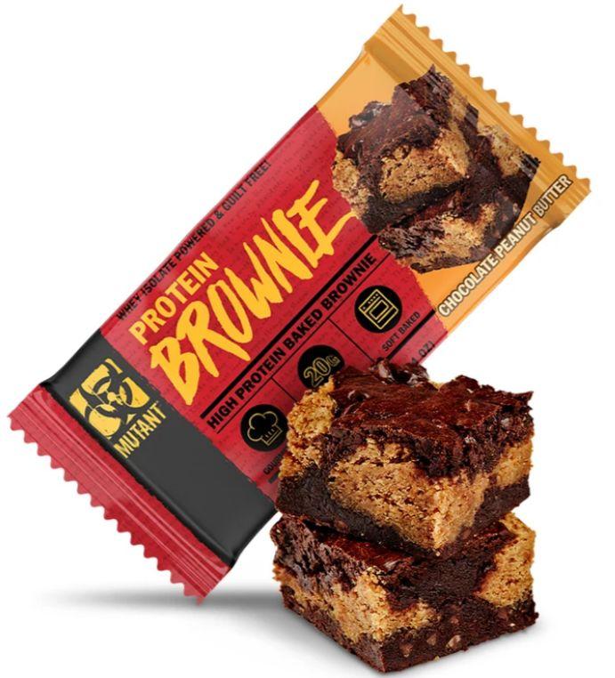 MUTANT PROTEIN BROWNIE 58g - Chocolate Peanut Butter