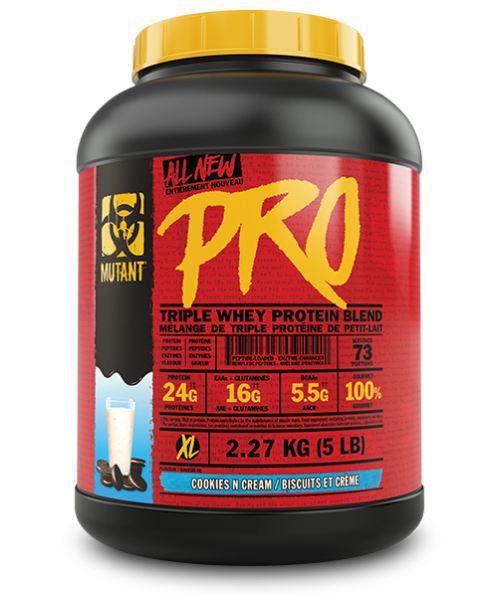 MUTANT PRO 2.27kg / 5lbs - Cookies´n Cream