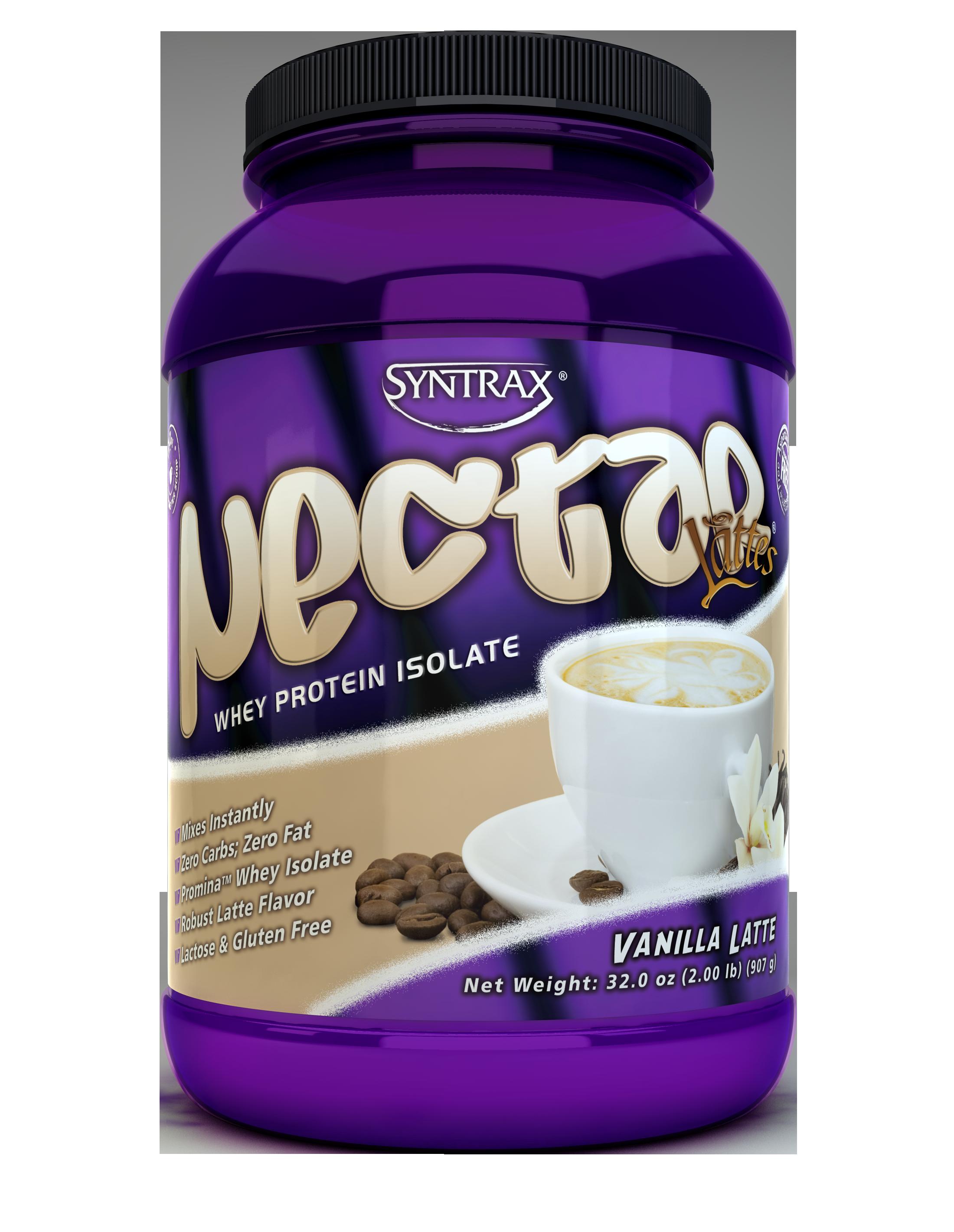 Syntrax Nectar Lattes - Vanilla Latte 2 lb