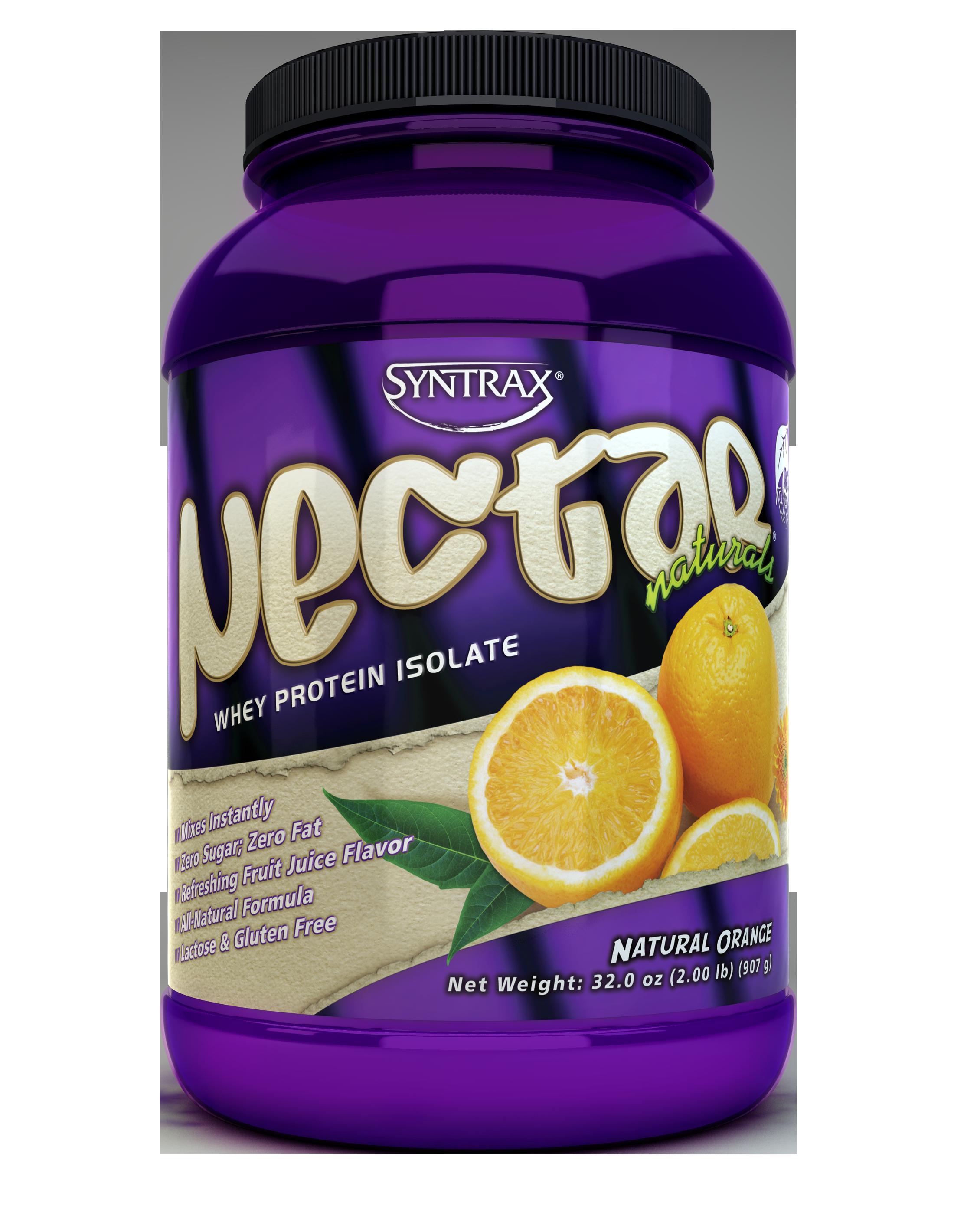 Syntrax Nectar Naturals - Natural Orange 2 lb