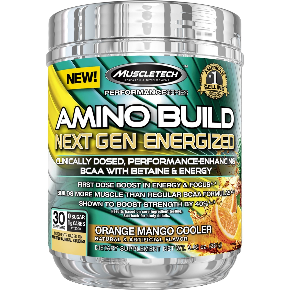 Amino Build Next Gen Energ. 30serv. orange mango - MT