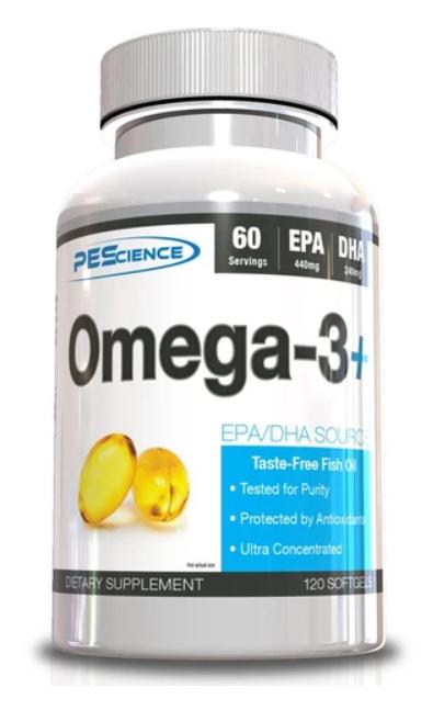 Omega-3+ 120softgels - PEScience
