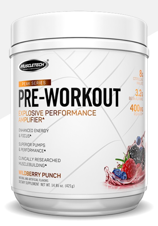 MT PEAK SERIES PRE-WORKOUT 25serv. - Strawberry lem.