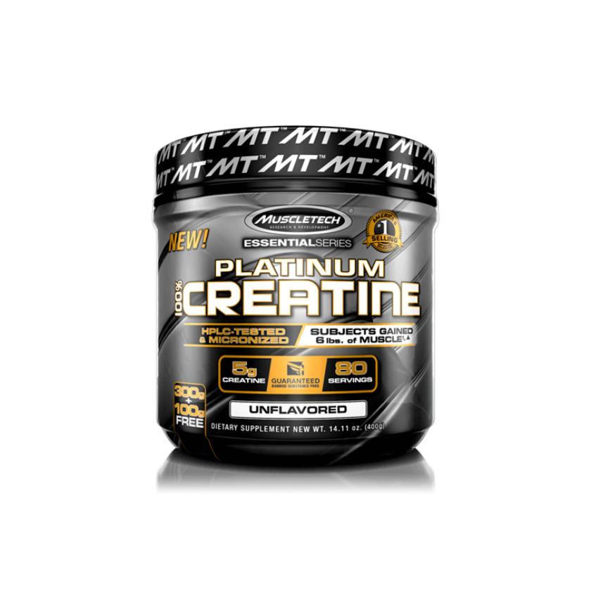 Platinum 100% Creatine 400g - MT