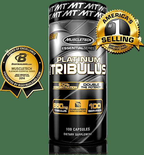 Platinum 100% TRIBULUS 100caps. - MT