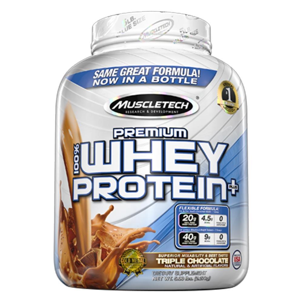 100% Premium Whey Protein Plus 5lb (jar) - MT