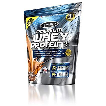 100% Premium Whey Protein Plus 5lb choc. (bag) - MT
