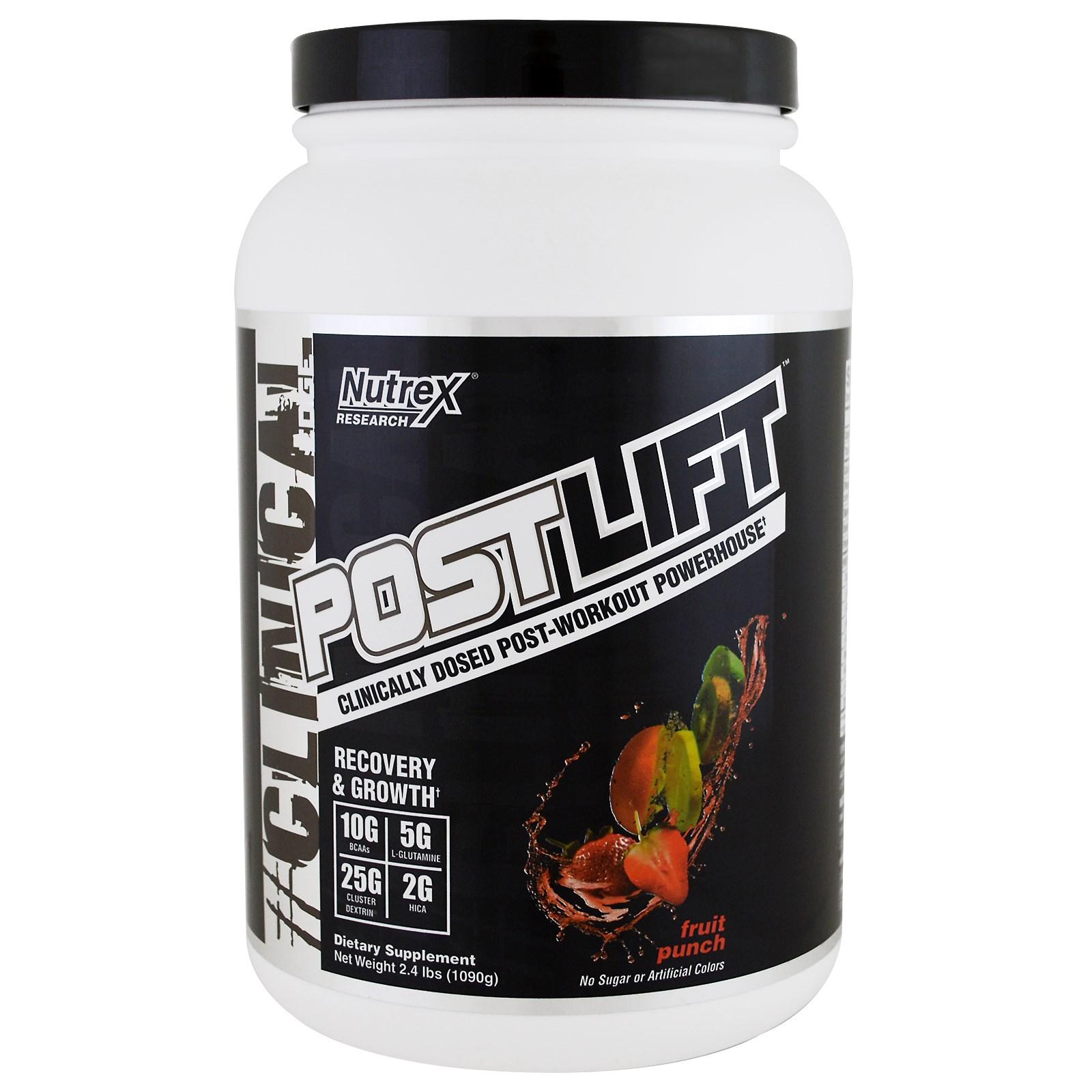 POSTLIFT 20serv. (1090g) fruit.p. - NUTREX (exp.11/18)