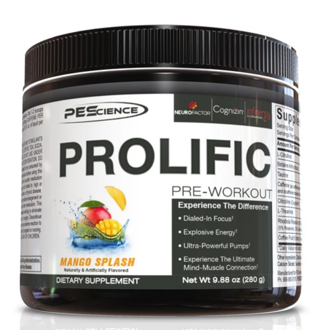 Prolific (Mango Splash) - PEScience