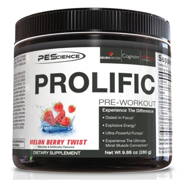 Prolific (Melon Berry Twist) - PEScience