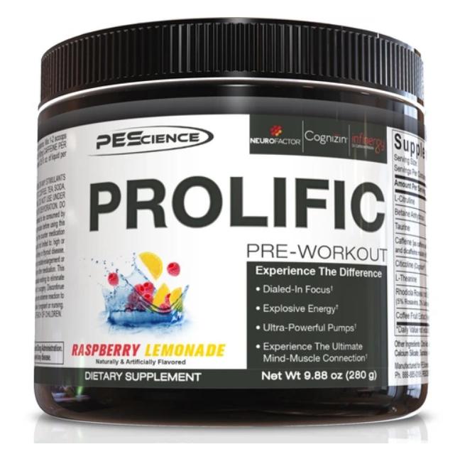 Prolific (Raspberry Lemonade) - PEScience