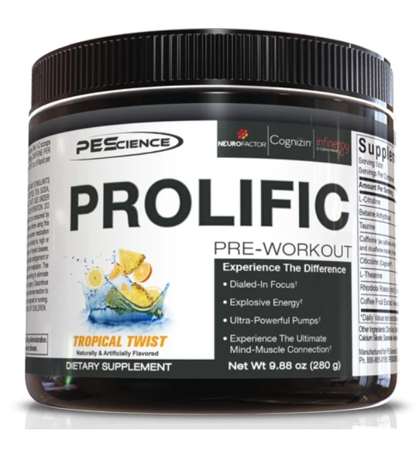 Prolific (Tropical Twist) - PEScience