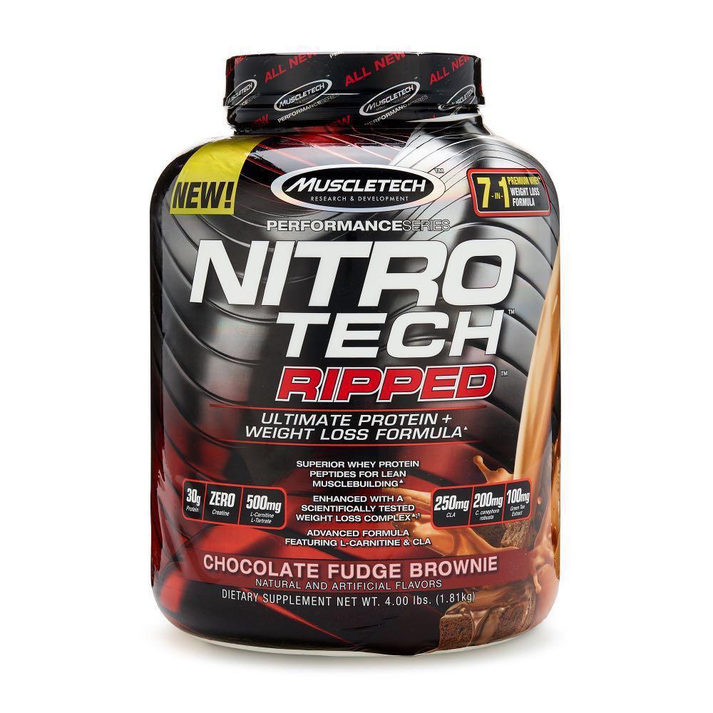 NITRO-TECH Ripped 4lb choco. - MT
