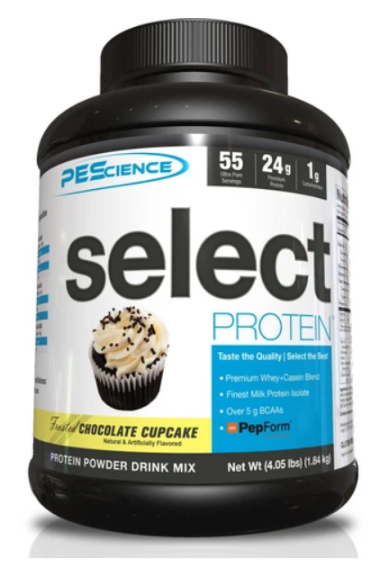 SELECT Protein 55serv. (Frosted Choco Cupcake) - PEScience