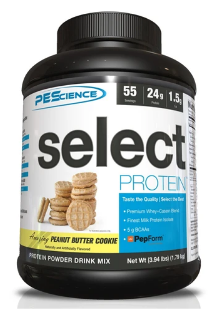 SELECT Protein 55serv. (Peanut Butter Cookie) - PEScience