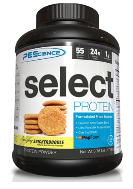 SELECT Protein 55serv. (Snickerdoodle) - PEScience