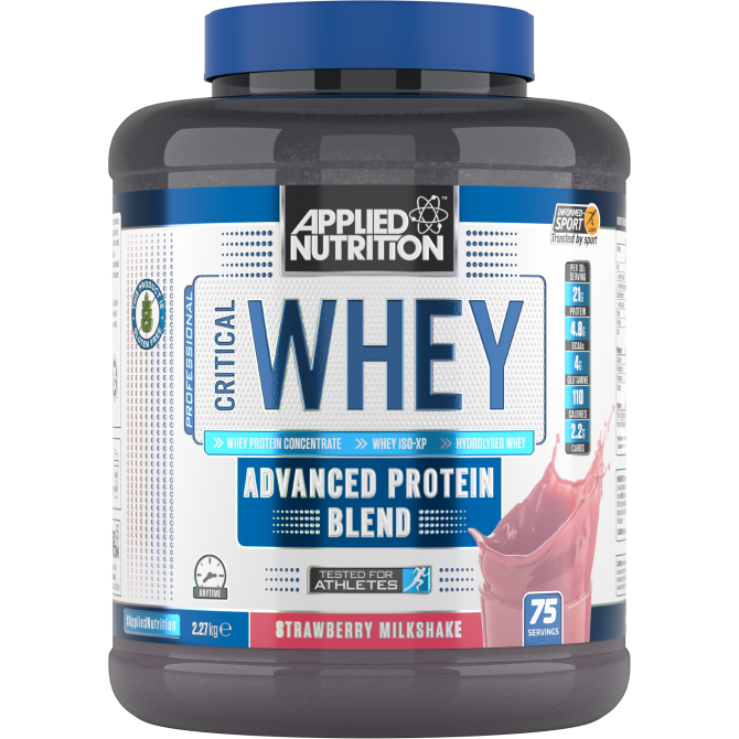 Critical Whey 2.27kg strawberry - Applied Nutrition