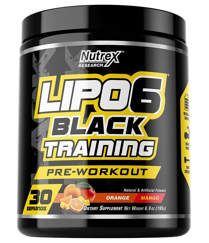 LIPO-6 Black Training 30serv. orange mango - NUTREX