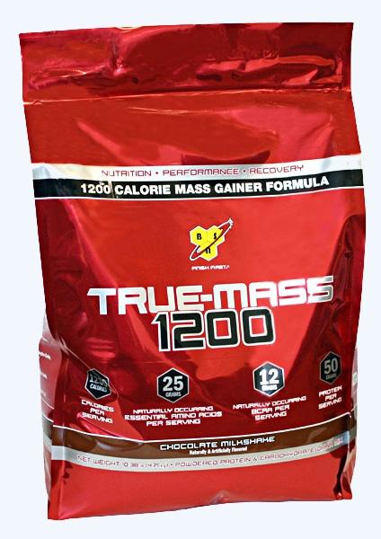 TRUE-MASS 1200 (10lbs) vanilla - BSN