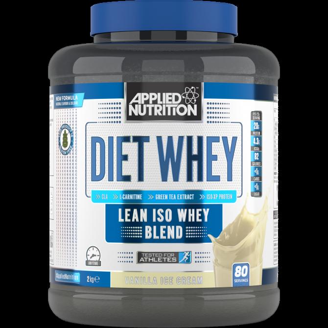 Diet Whey 2kg vanilla - Applied Nutrition