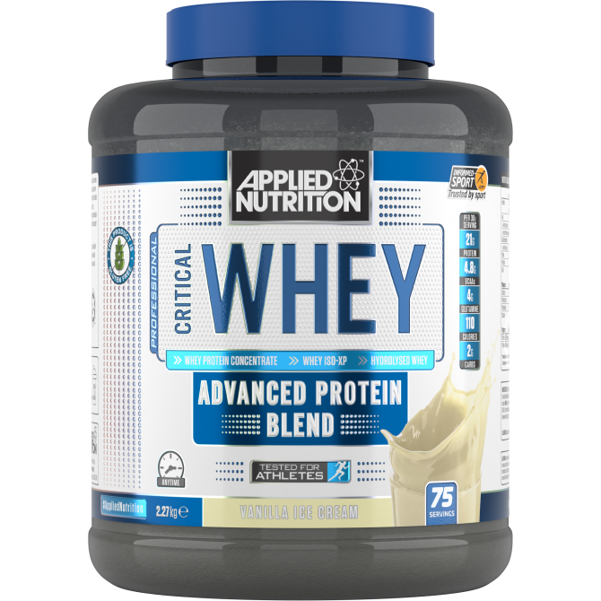 Critical Whey 2.27kg vanilla - Applied Nutrition
