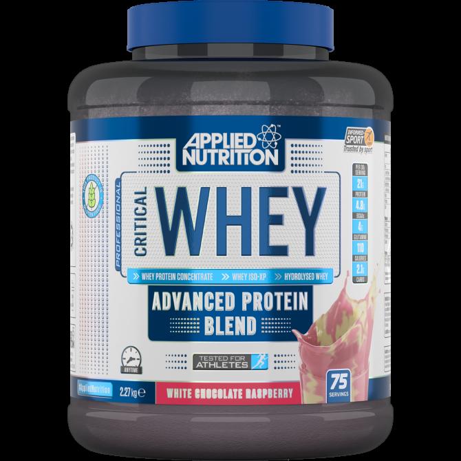 Critical Whey 2.27kg white choco rasp - Applied Nutrition