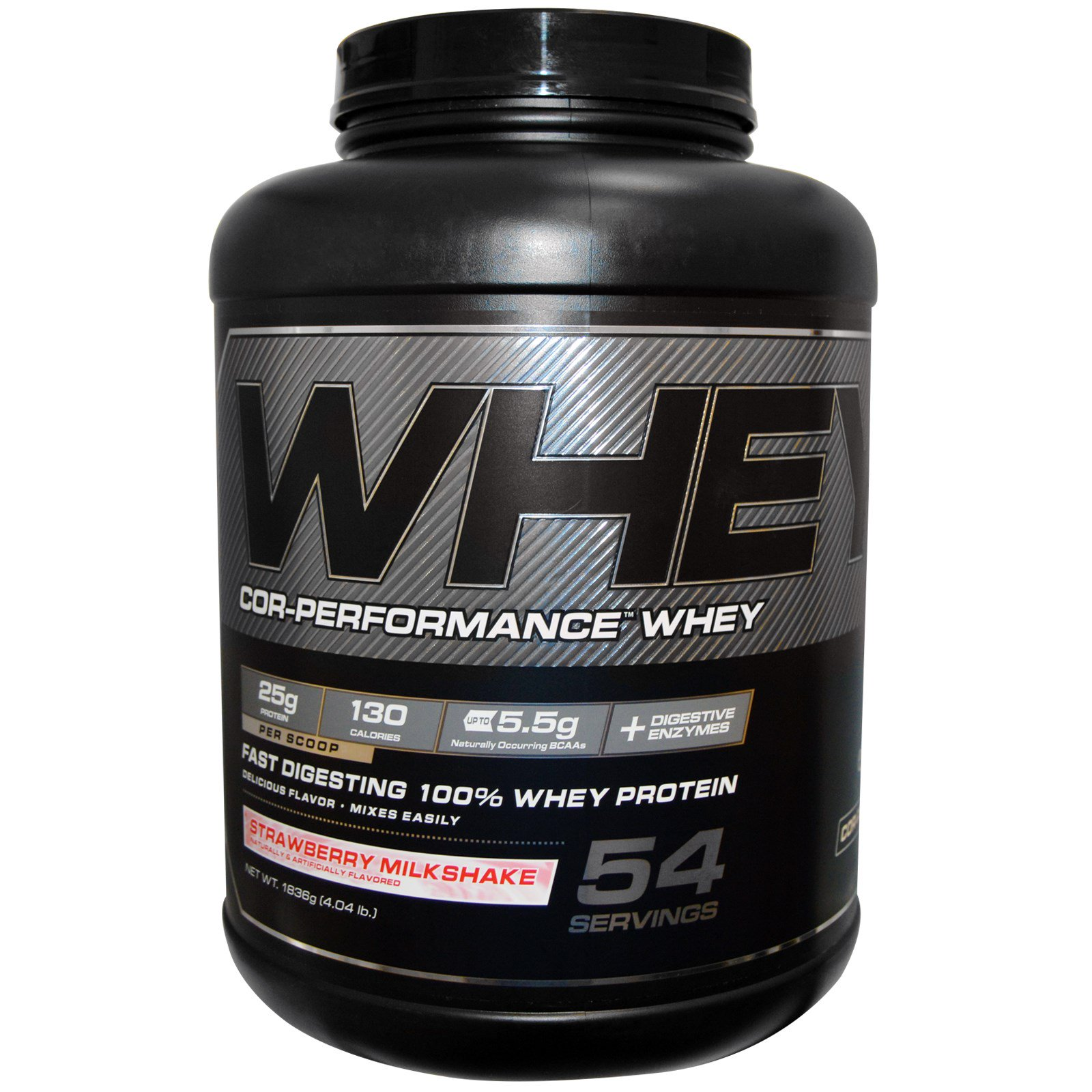 COR-Performance Whey 4lb straw.- COR