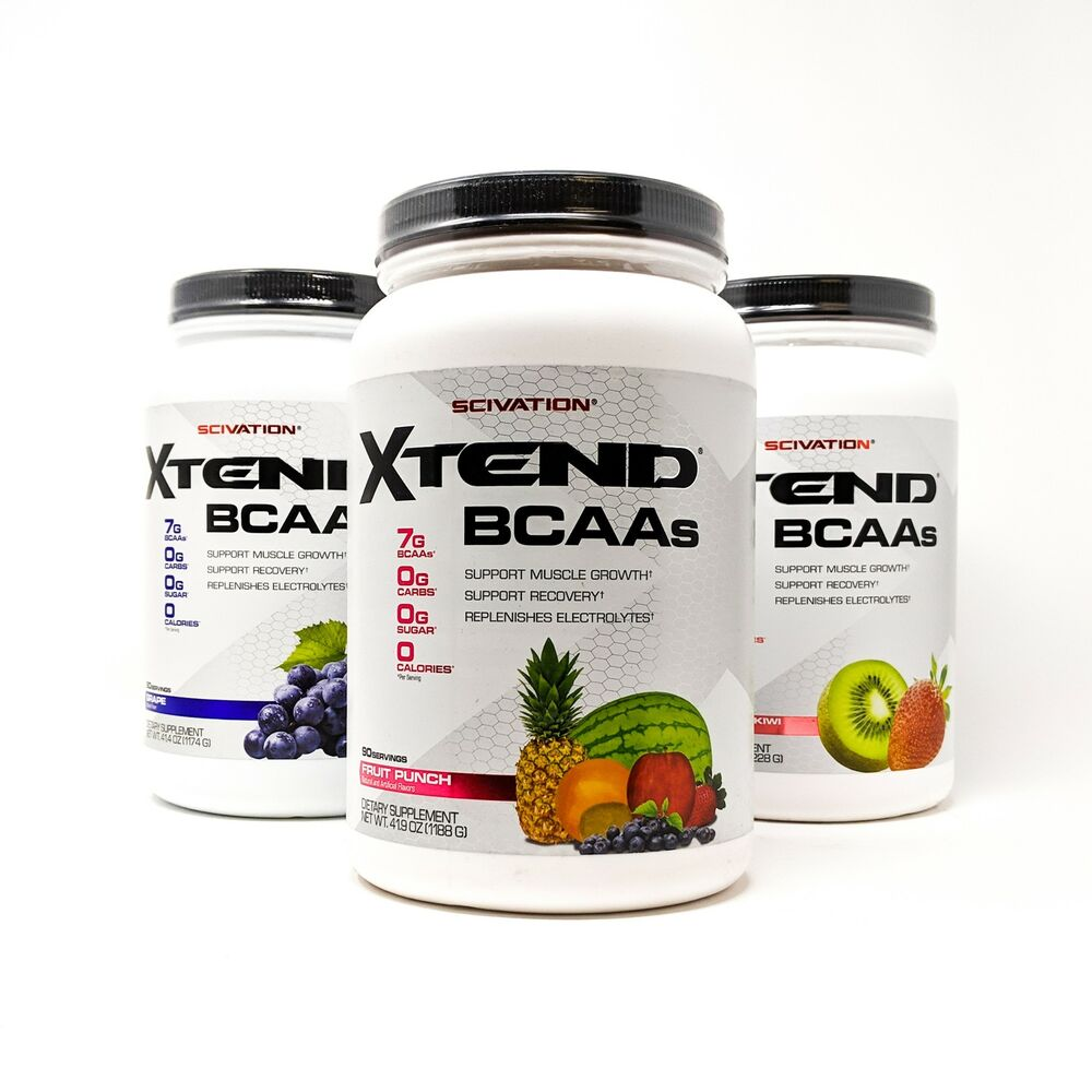 XTEND BCAAs 90serv. Pineapple - Scivation